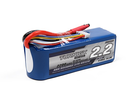 Turnigy 2200mAh 4S 20C Lipo Pack (No connector)
