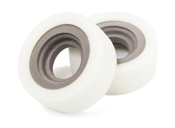 """DC Chequered Flag 1:10 Double Section 1.9"""" Type B Super-Soft Tire Inserts (2pcs)"""