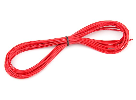 Turnigy High Quality 20AWG Silicone Wire 7m (Red)