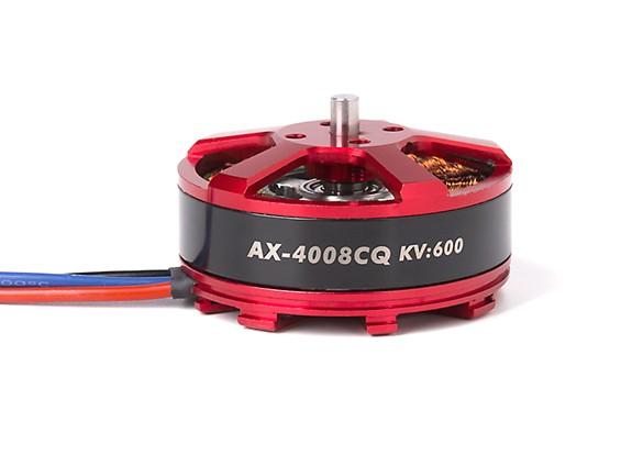 AX-4008CQ-600KV Brushless Outrunner Motor 4~5S (CW)