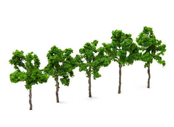 HobbyKing™ 60mm Scenic Wire Model Trees (5 pcs)