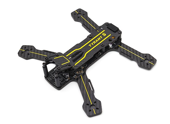 Diatone Tyrant S 215 FPV Racing Drone (ver 2017) (Frame Kit) - Front Top View