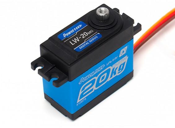 Power HD LW-20MG Digital Servo (Waterproof) 20kg / 0.16sec / 63g