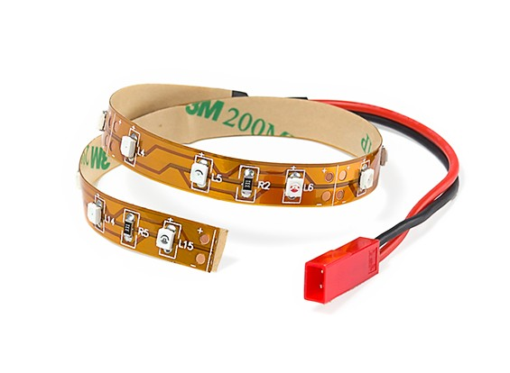 LED Strip with JST Female Connector 200mm (Yellow)