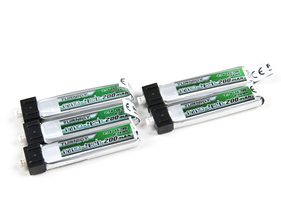 Turnigy nano-tech 200mAh 1S 35~70C LiPoly Battery2