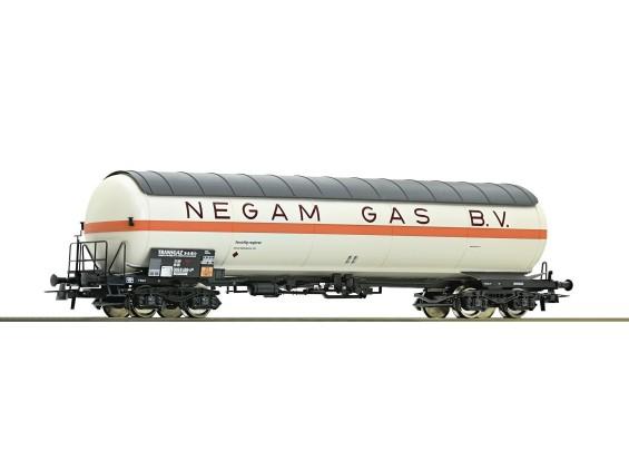 Roco/Fleischmann HO Pressurised Gas Tank Wagon VTG (NEGAM GAS B.V.)