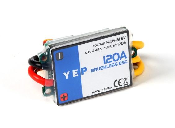 HobbyKing YEP 120A HV(4〜14S)无刷调速器(OPTO)