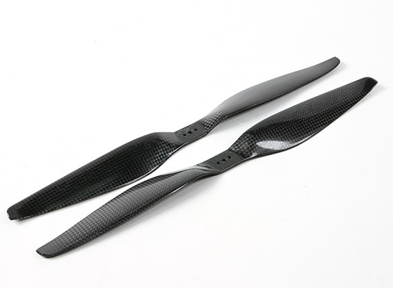 SCRATCH/DENT - Dynam 14x5.5 Carbon Fiber Propellers for Multirotors (CW and CCW) (1pair)