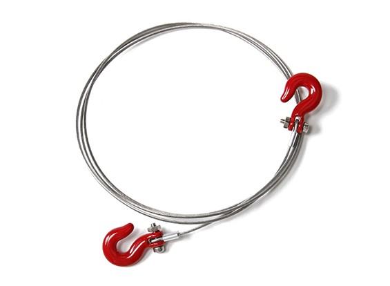 1/10比例RC合金绳链和挂钩岩石履带