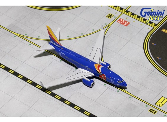 Gemini Jets Southwest Airlines Boeing 737-700w  'Triple Crown One' N409WN 1:400 Diecast Model GJSWA1577