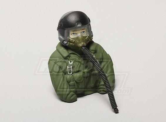 型号喷气机飞行员1/6(绿色)(H80点¯xW68点¯xD37mm)