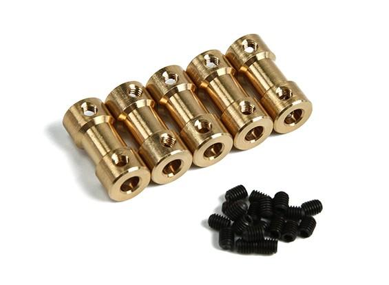 黄铜汽车变速箱连接器5㎜4mmxD9xH20mm(5片装)