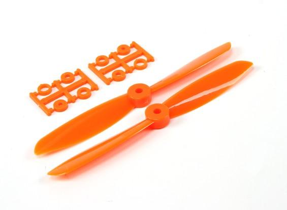 6045电动螺旋桨(顺时针和逆时针),橙1对/袋