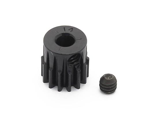 罗宾逊赛车黑色阳极电镀铝小齿轮节距48 14T