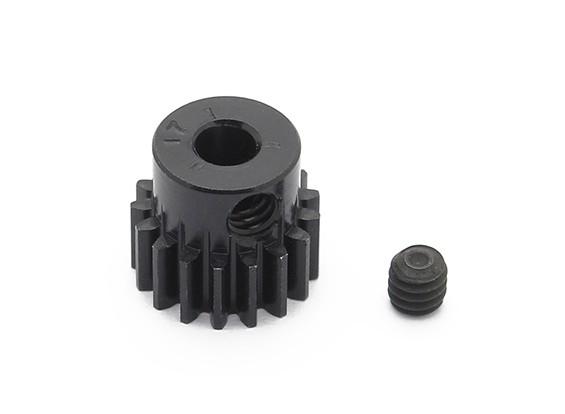 罗宾逊赛车黑色阳极电镀铝小齿轮节距48 17T