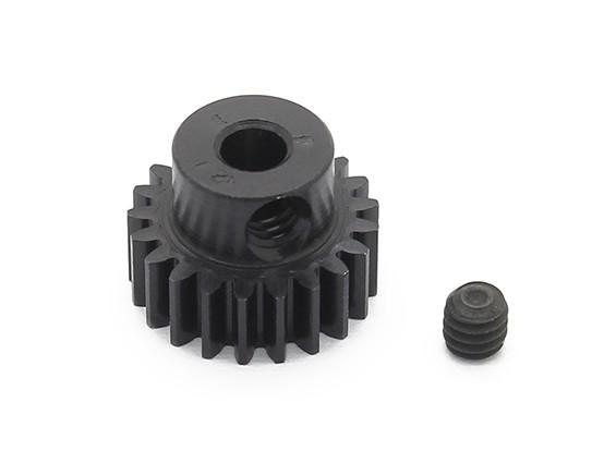 罗宾逊赛车黑色阳极电镀铝小齿轮节距48 21T