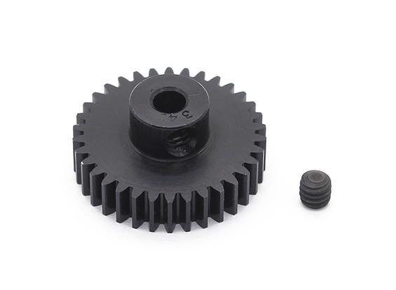 罗宾逊赛车黑色阳极电镀铝小齿轮节距48 34T