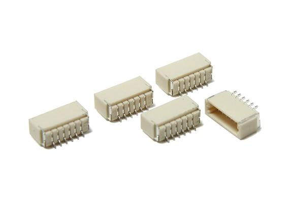 JST-SH个6Pin插座(表面贴装)(5片装)