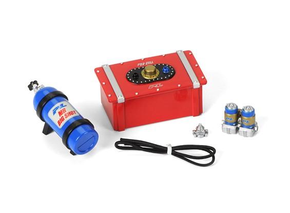 规模配件#8(燃料电池/硝基瓶/瓶支架/燃油泵/燃油调节器/燃油管)