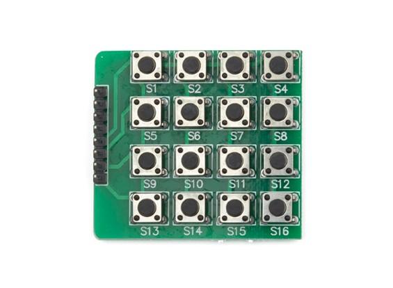 Kingduino 4×4键盘的按键模块