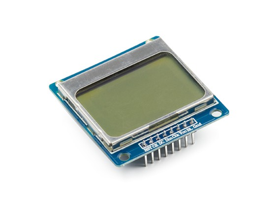 图形LCD 84x48诺基亚5110 Kingduino