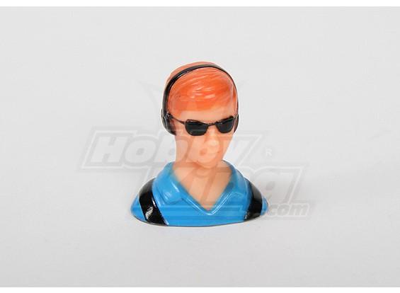 1/10驾驶员模型(蓝色)(H38点¯xW36点¯xD23mm)