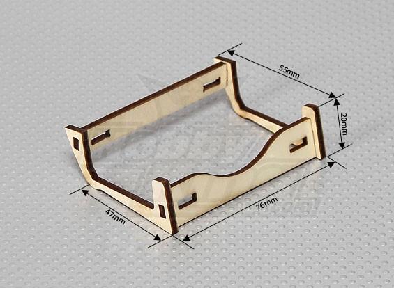 木制电池座