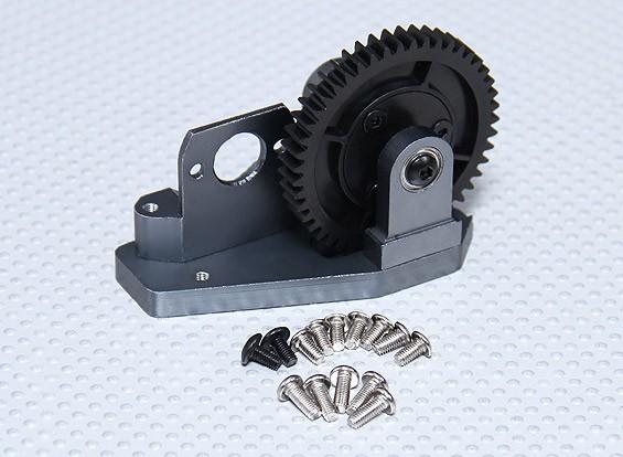 直齿圆柱齿轮和电机安装套装 - 卡丁车