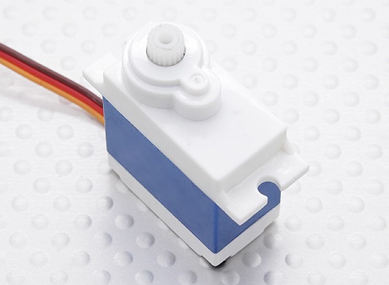 HobbyKing™HKSCM16-6单芯片数字伺服2.5公斤/ 0.13sec /16克