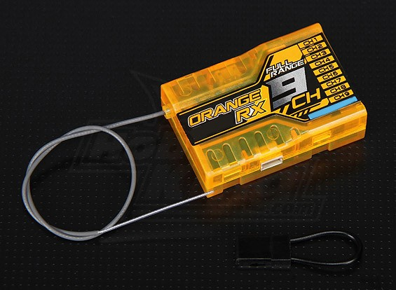 OrangeRx R910 DSM2兼容9CH的2.4GHz接收TwinPort