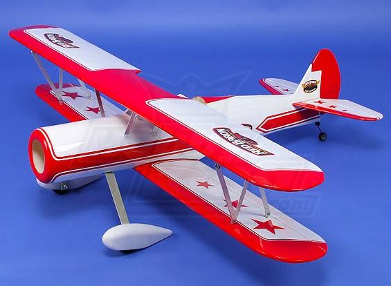 超级斯蒂尔曼双翼飞机巴尔沙1120毫米(ARF)