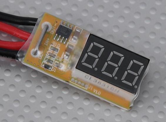 在线路电压和功率表