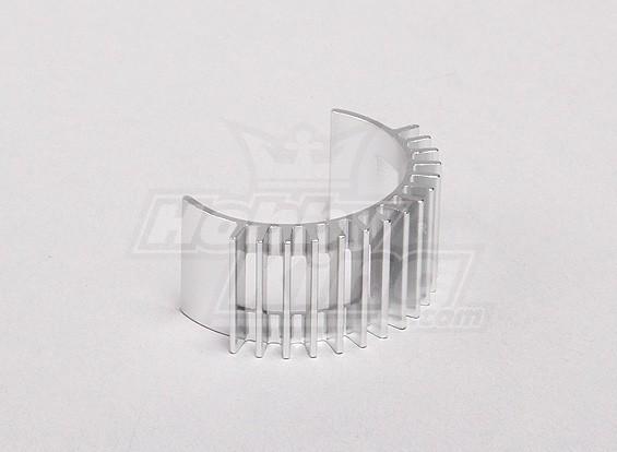 铝合金电机散热片28毫米汽车