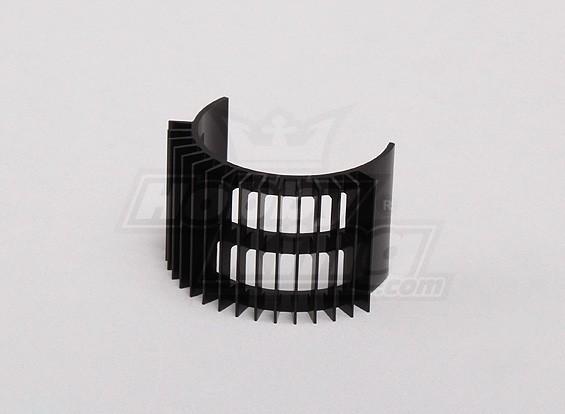 黑色铝合金电机散热片(直径36mm内转)