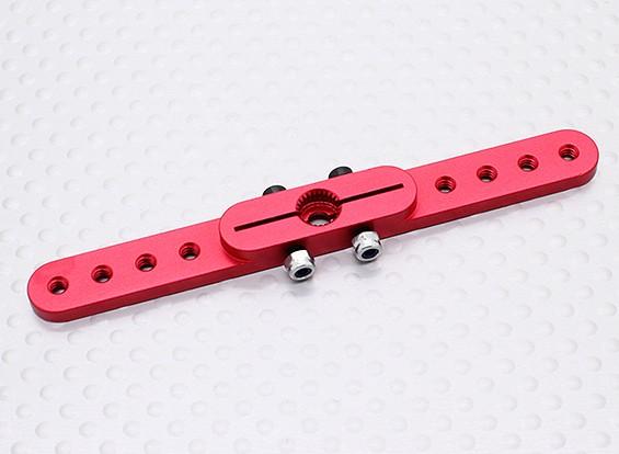 重型合金3.0in拉拉臂伺服 - 双叶(红)