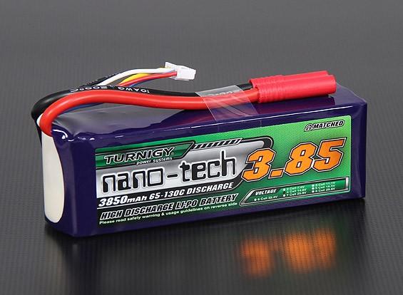 Turnigy纳米技术3850mah 4S 65〜130℃的脂微球包