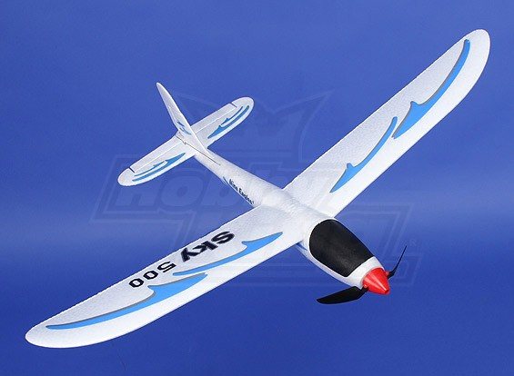 天空500超微滑翔机500毫米(RTF)(模式1)
