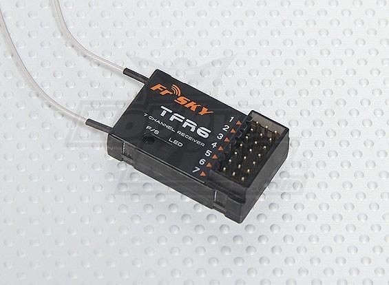 睿思凯TFR6 7CH的2.4GHz接收器兼容FASST