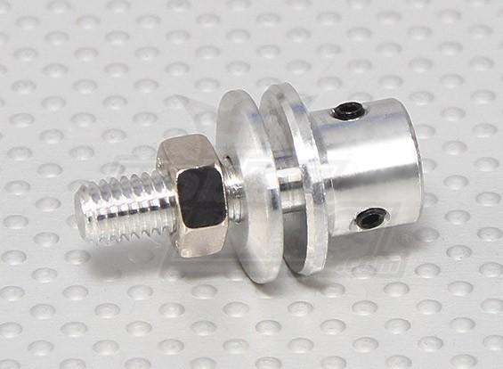 道具适配器W /钢螺母3毫米轴(埋头螺钉型)