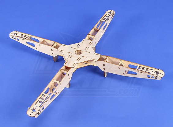 HobbyKing迷你四轴飞行器框架V1  - 539毫米