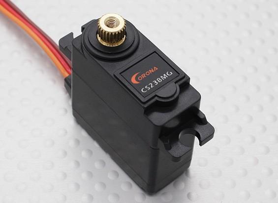 科罗纳CS238MG金属齿轮伺服4.6千克/ 0.14sec /22克