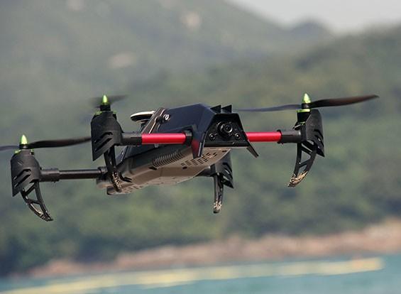 Quanum创业FPV豪华四轴飞行器集瓦特/ DJI FatShark和非洲部件(PNF)