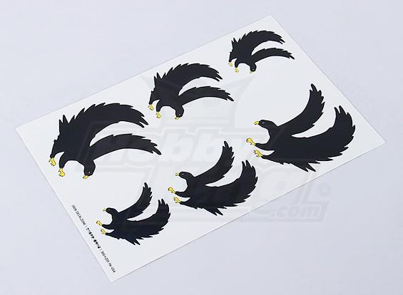 黑鹰贴花表