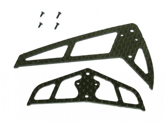 Gaui 100 200 CF翅片&尾(B型)黑