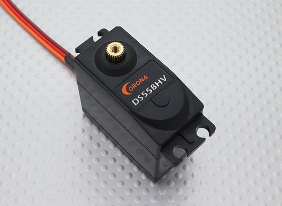 科罗纳DS558HV数码金属齿轮舵机14千克/58克/ 0.18秒