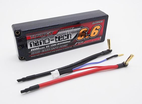 Turnigy纳米技术6600mah 2S2P 65〜130℃HARDCASE前列包