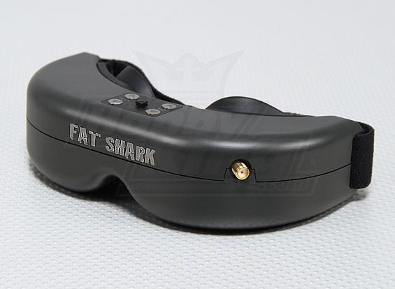 胖鲨鱼捕食者FPV耳机系统