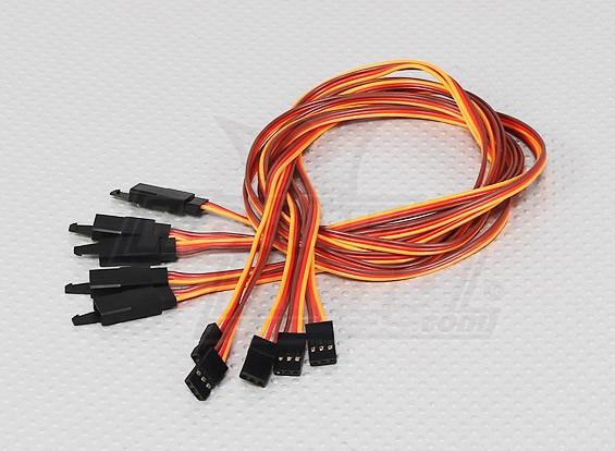 60CM伺服铅延伸(JR)与钩26AWG(5片/袋)