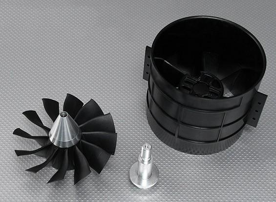 12刀片高性能120毫米EDF涵道风扇单元
