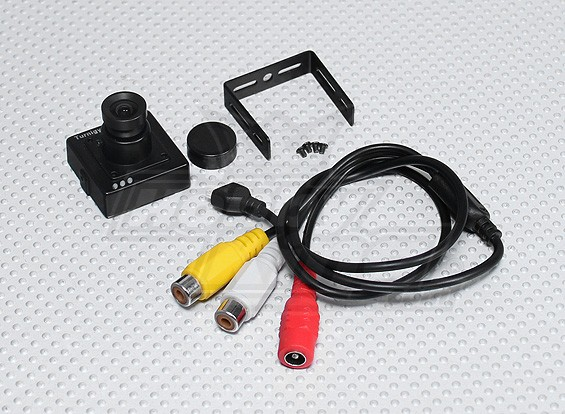 Turnigy微FPV摄像机600线(NTSC)